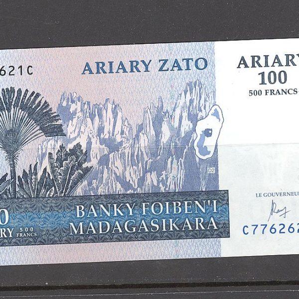 Madagaskaras 100 ariarių 2004 m. 1 100