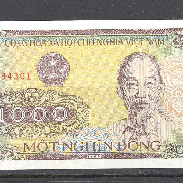 Vietnamas 1000 dongų 1988 m. 1 100