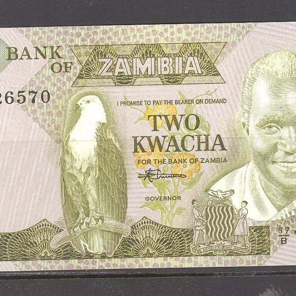 Zambija 20 kvačos 1986 m. 1