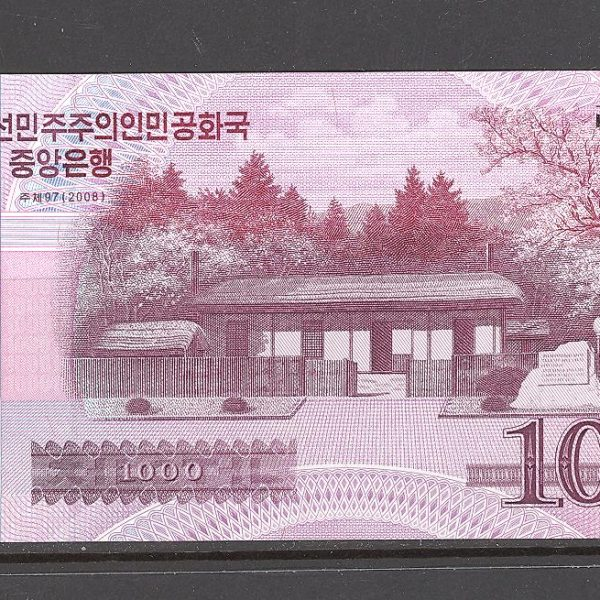 Šiaurės Korėja 1000 vonų 2008 m. 1