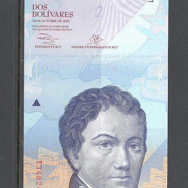 Venesuela 2 bolivarai 2013 m. 1