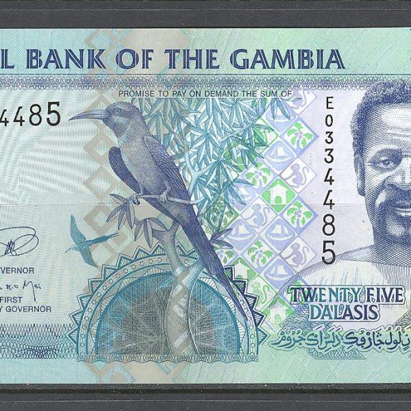 Gambija 25 dalasiai 2013 m. 1