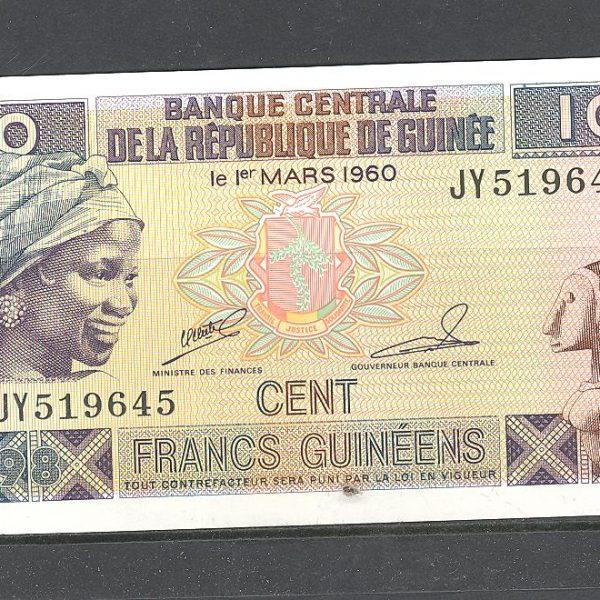 Gvinėja 100 frankų 1998 m. 1