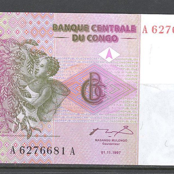 Kongas 1 centimas 1997 m. 1
