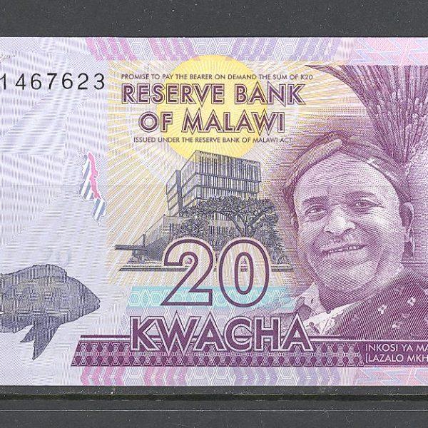 Malawi 20 kvačų 2016 m. 1