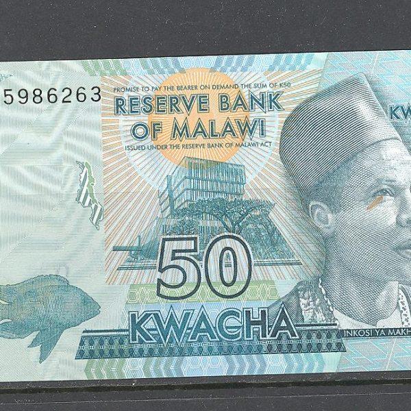 Malawi 50 kvačų 2016 m. 1