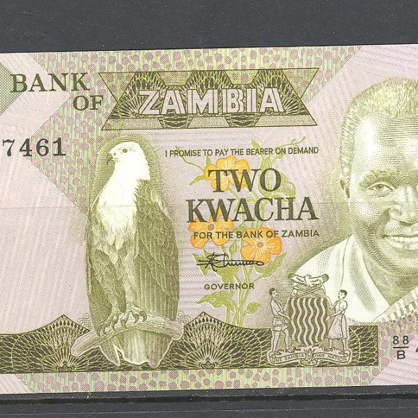 Zambija 2 kvačos 1988 m. 1