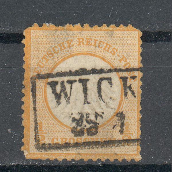 Reichas 1872 m. Mi 14 antsp. 65 EUR 1