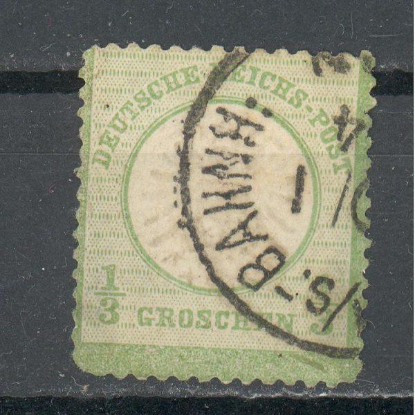 Reichas 1872 m. Mi 17a antsp. 20 EUR 1