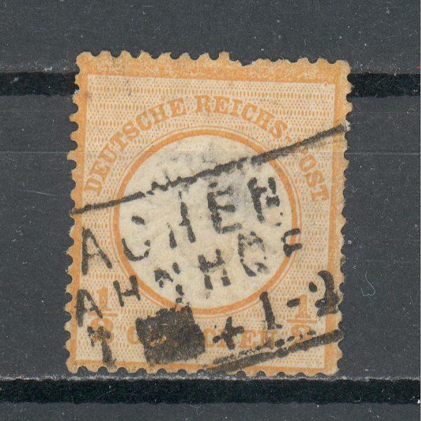 Reichas 1872 m. Mi 18 antsp. 12 EUR 1