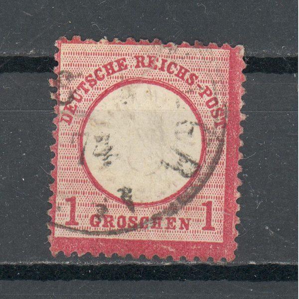 Reichas 1872 m. Mi 19 antsp. 8 EUR 1