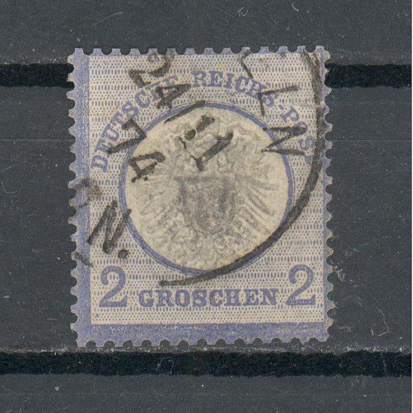 Reichas 1872 m. Mi 20 antsp. 9 EUR 1