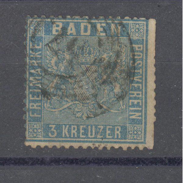 Baden 1860 m. Mi 10a 90 EUR 1