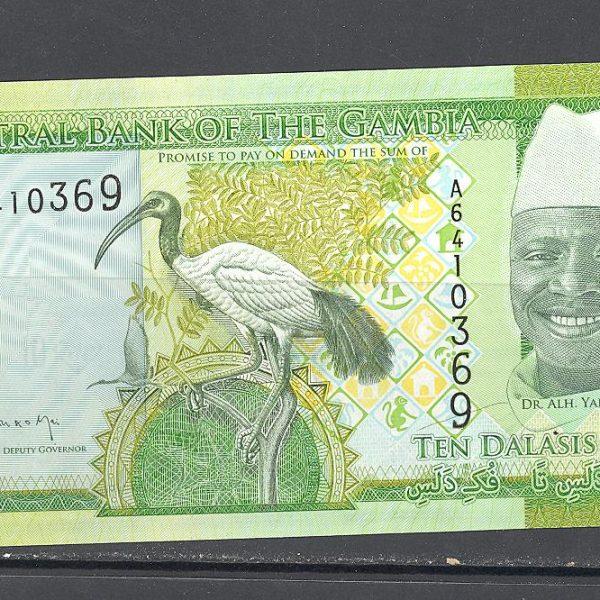 Gambija 10 dalasių 2015 m. 1