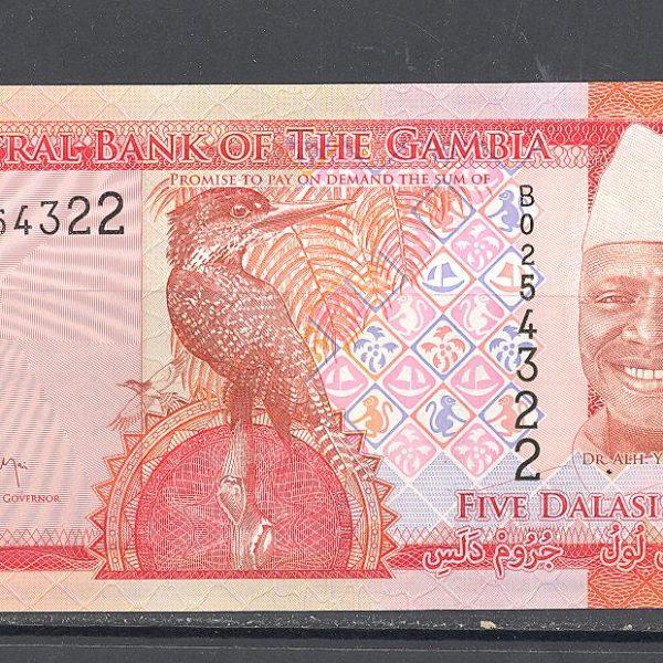 Gambija 5 dalasiai 2015 m. 1
