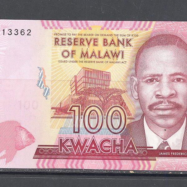 Malawi 100 kvačų 2016 m. 1