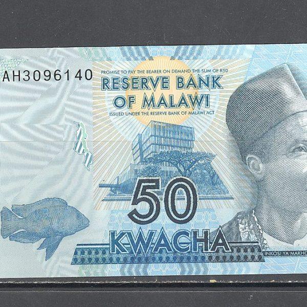 Malawi 50 kvačų 2012 m. 1