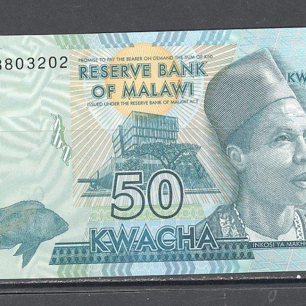 Malawi 50 kvačų 2015 m. 1