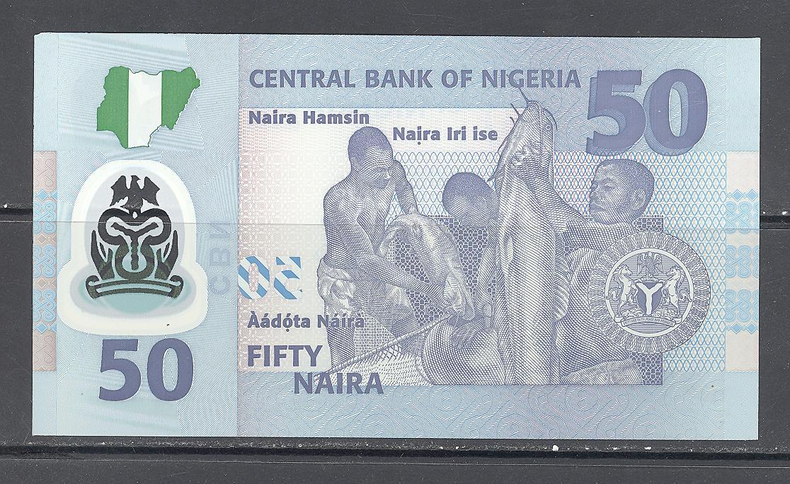 50 Nigerian naira (2011) UNC