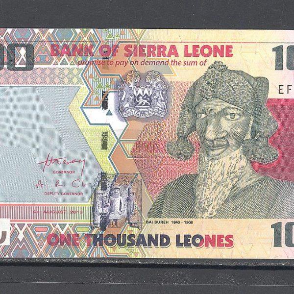 Siera Leonė 1000 leonų 2013 m. 1