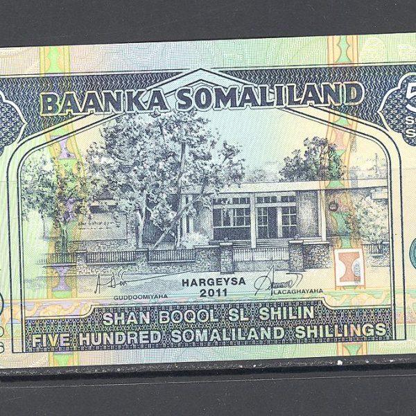 Somalis 500 šilingų 2011 m. 1