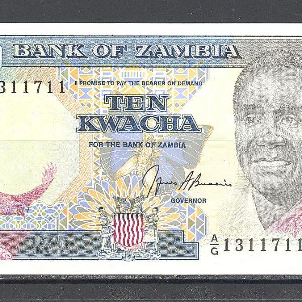 Zambija 10 kvačų 1989 m. 1