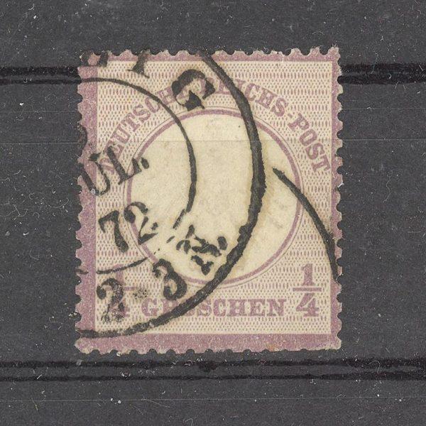Reichas 1872 m. Mi 1 antsp. 120 EUR 1