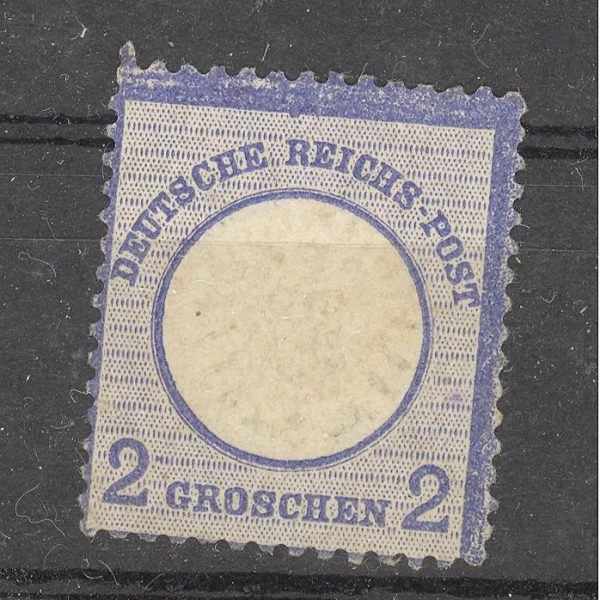 Reichas 1872 m. Mi 20 MH 10 EUR 1