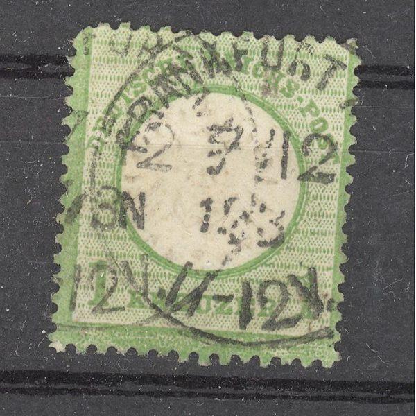 Reichas 1872 m. Mi 23a antsp. 45 EUR 1