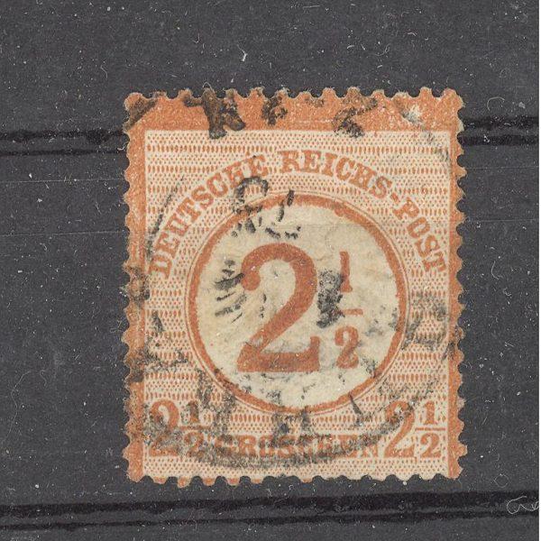 Reichas 1874 m. Mi 29 antsp. 65 EUR 1