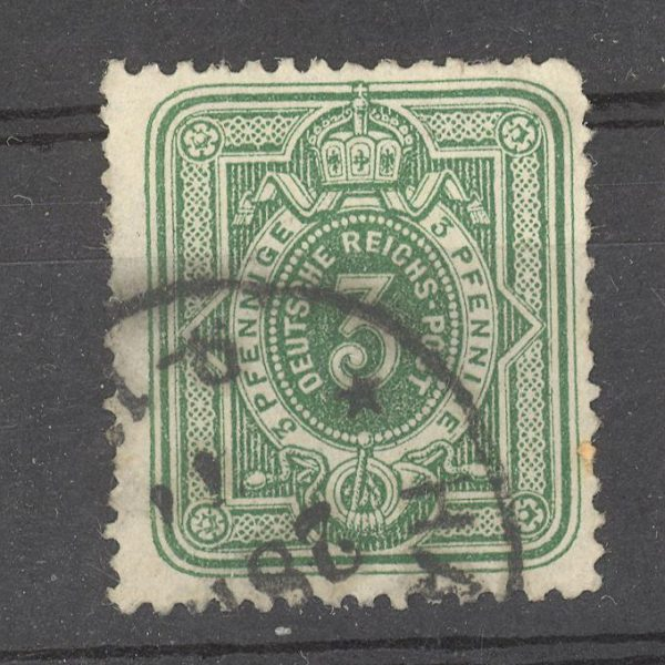 Reichas 1875 m. Mi 31 antsp. 7 EUR 1
