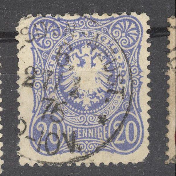 Reichas 1875 m. Mi 34 antsp. 2.50 EUR 1