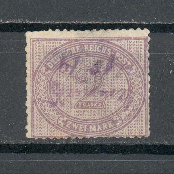 Reichas 1875 m. Mi 37a antsp. 50 EUR 1