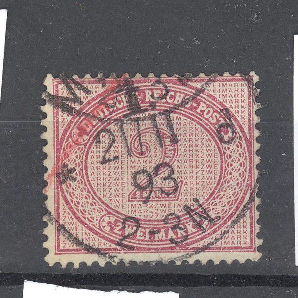 Reichas 1875 m. Mi 37b antsp. 60 EUR 1