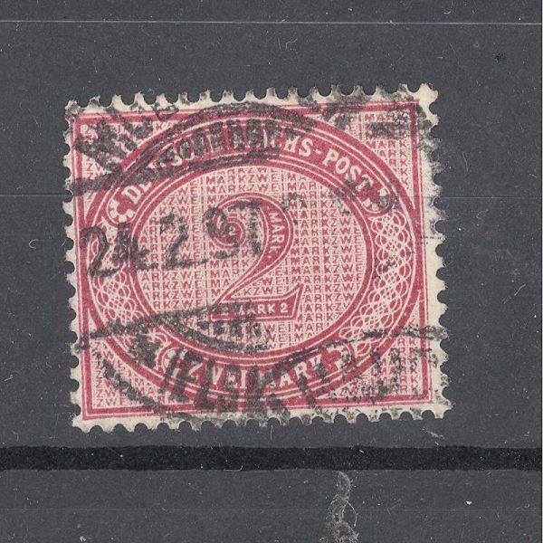 Reichas 1875 m. Mi 37d antsp. 80 EUR 1