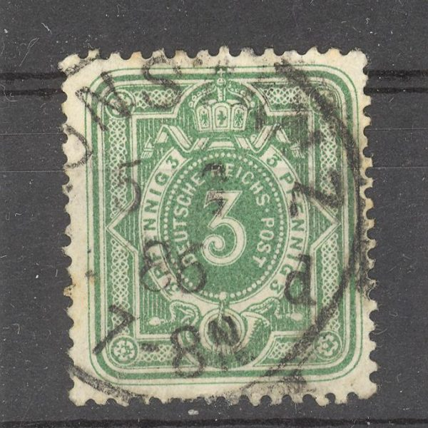 Reichas 1880 m. Mi 39 antsp. 2 EUR
