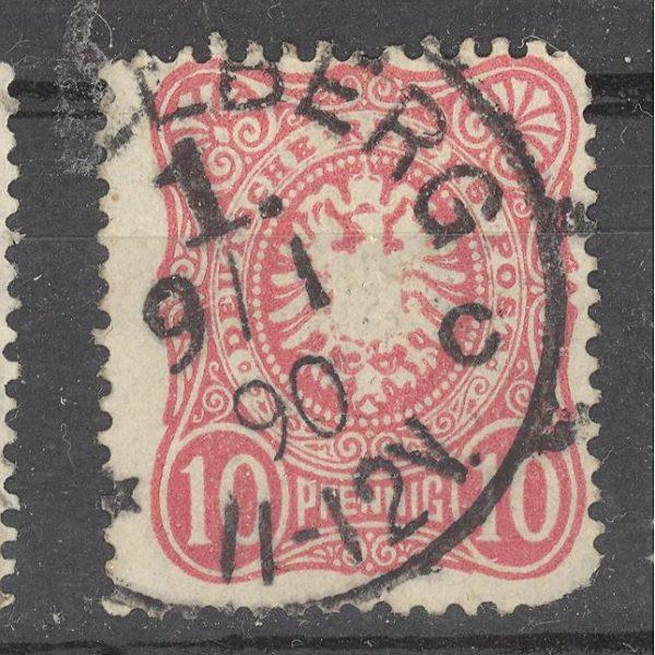 Reichas 1880 m. Mi 41 antsp. 2 EUR