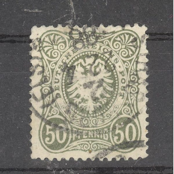 Reichas 1880 m. Mi 44 antsp. 2 EUR