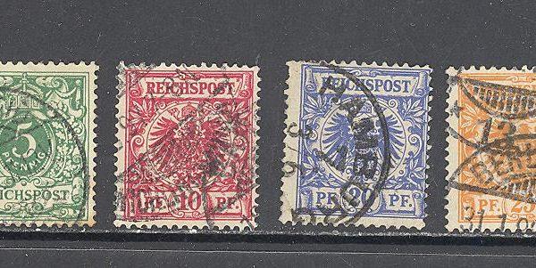 Reichas 1889 m. Mi 45-50 10 EUR 1