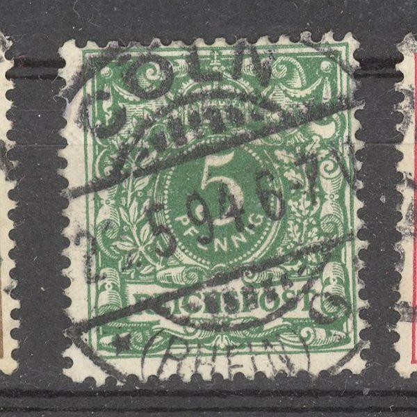 Reichas 1889 m. Mi 46 1.80 EUR