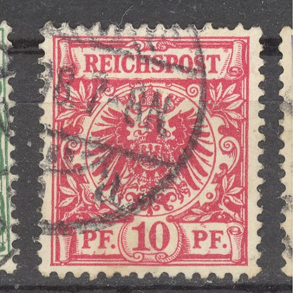 Reichas 1889 m. Mi 47 2 EUR