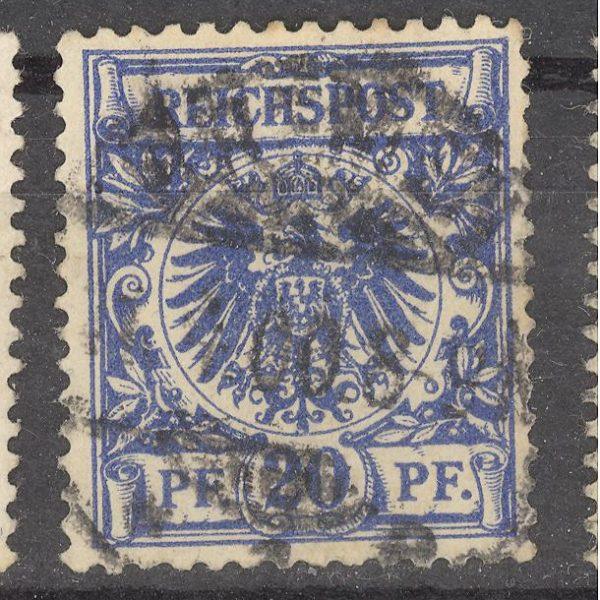 Reichas 1889 m. Mi 48 1.80 EUR