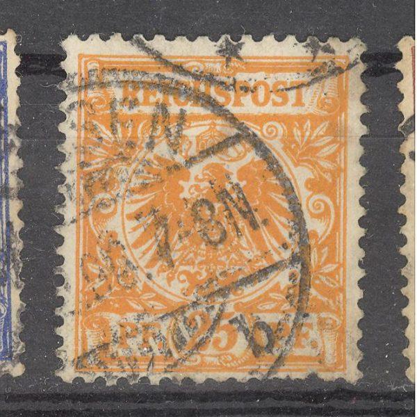 Reichas 1889 m. Mi 49 2.50 EUR