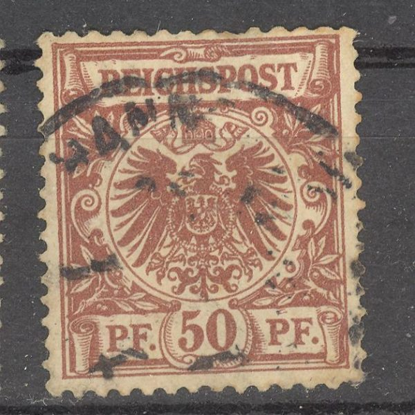 Reichas 1889 m. Mi 50 1.80 EUR