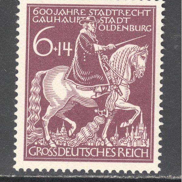Reichas 1945 m. Mi 907 MH 0,30 EUR