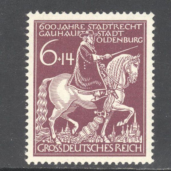 Reichas 1945 m. Mi 907 MNH 1 EUR