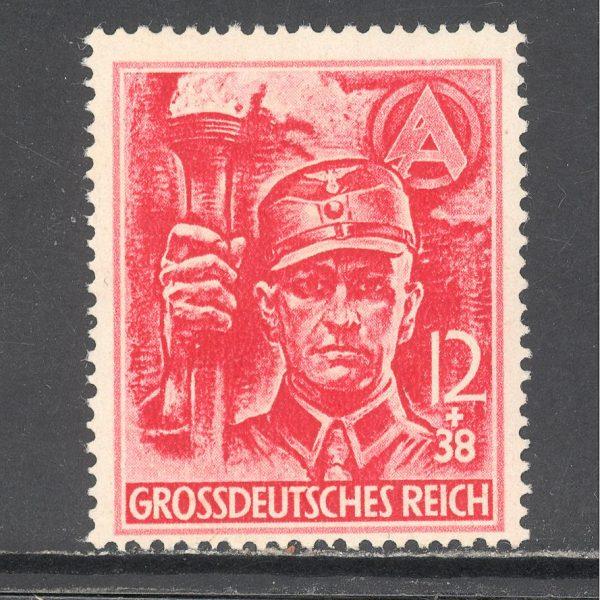 Reichas 1945 m. Mi 909 MH 8 EUR