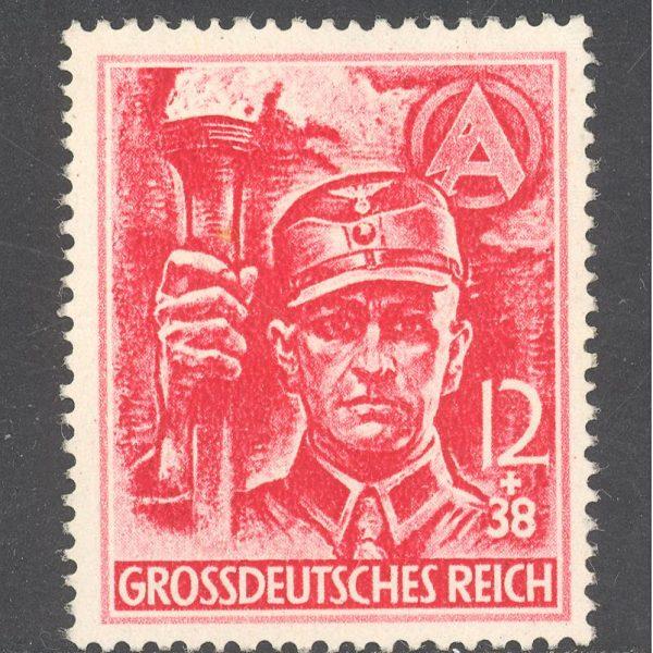 Reichas 1945 m. Mi 909 MNH 35 EUR